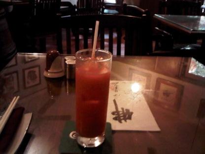 Carrot Juice at Lá