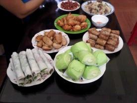 Hương's Home Cooked Meal