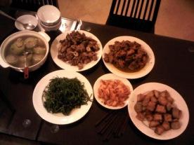 Meal at Bích Duyên