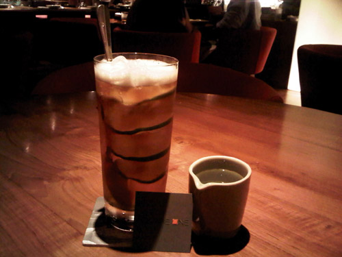 Ice Tea at Square in Ho Chi Minh City