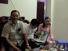 anh Hóa and em Yến