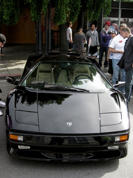 Cars in Japantown