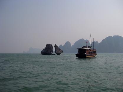 Rock / Boat