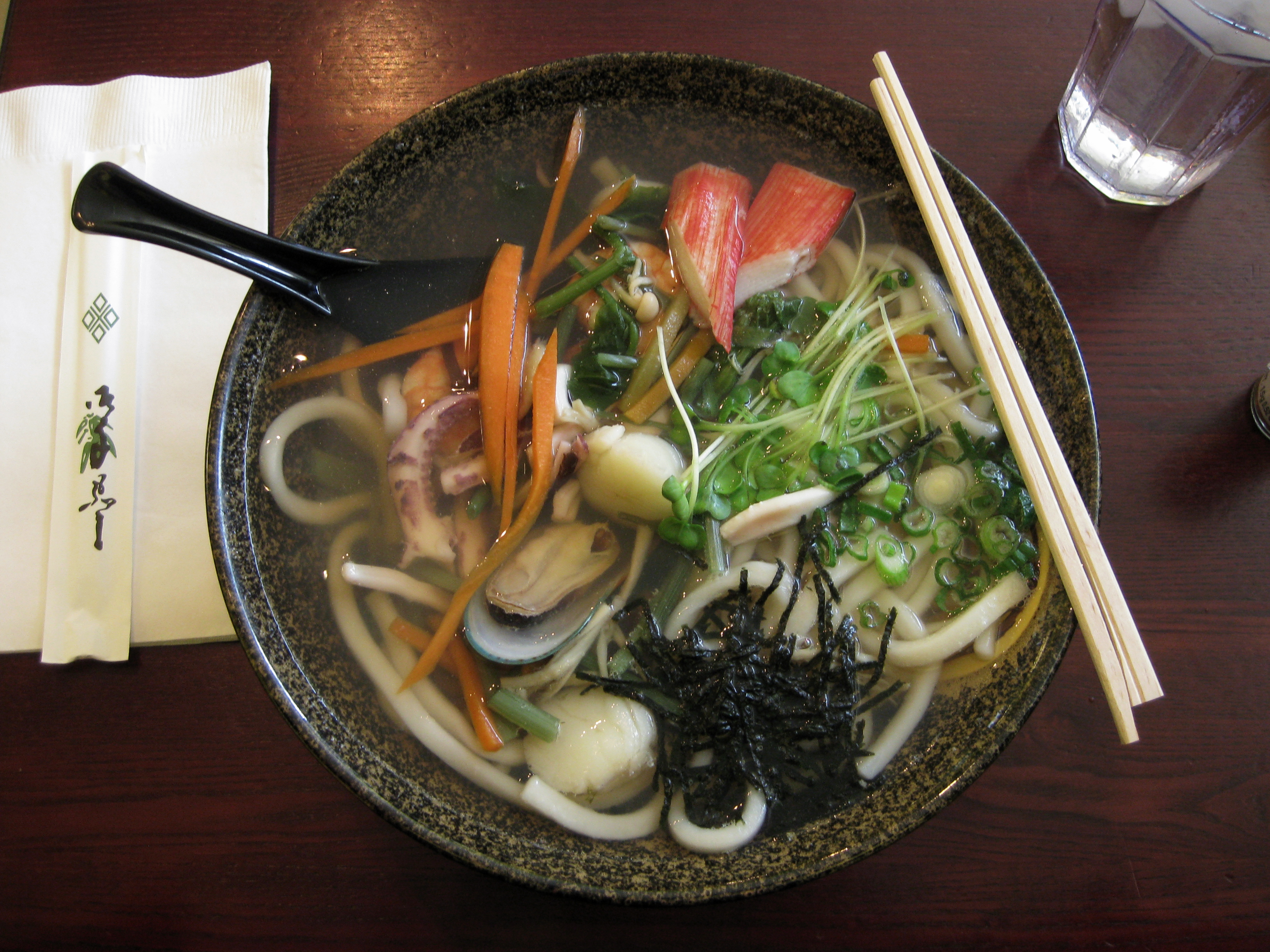 recipe: seafood soba soup [16]