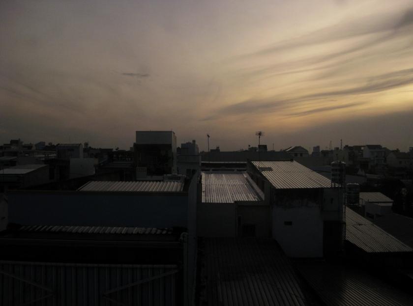 Sunrise in Cần Thơ