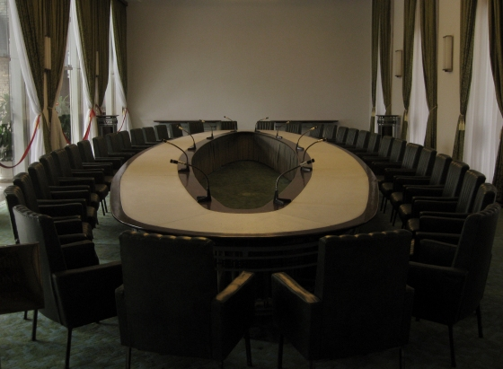 The Cabinet Meeting Room