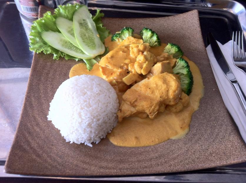 Chicken Curry, White Rice