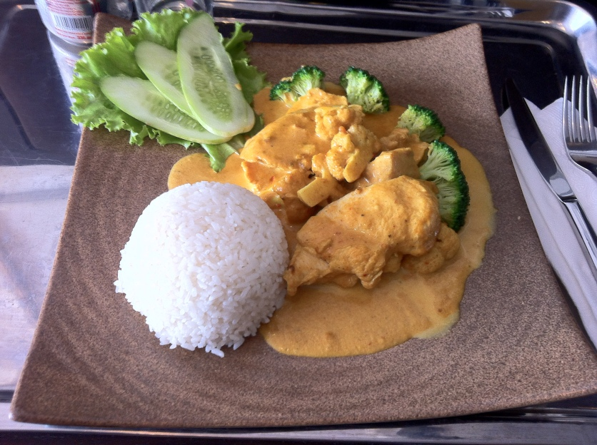 Chicken Curry, White Rice