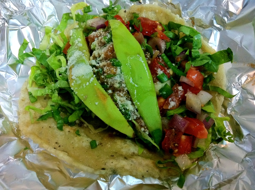 Grilled Lime Chicken Taco