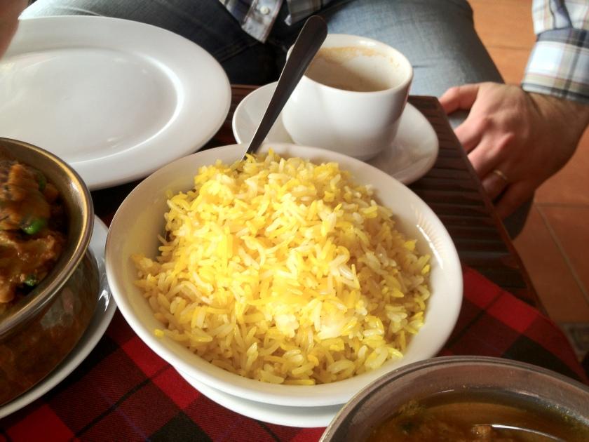 Saffron Basmati Rice