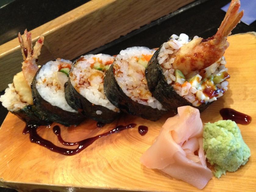 Tempura Sushi Roll