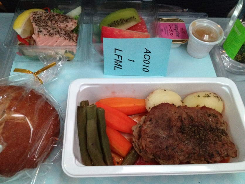 Air Canada Low-Fat Low-Cholesterol Meal