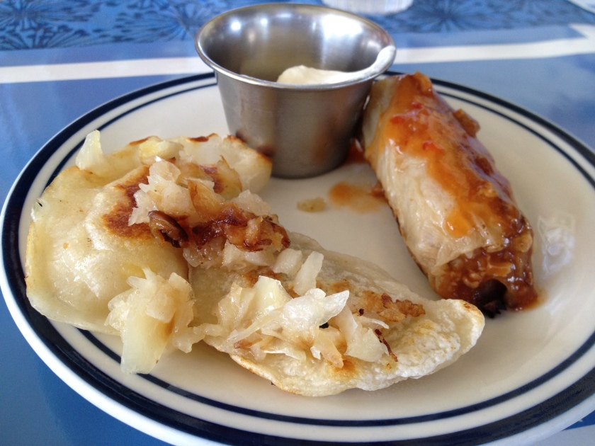 Pierogis, Cabbage Roll