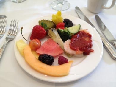 Fruits and Vegetables, Cocktail Shrimp