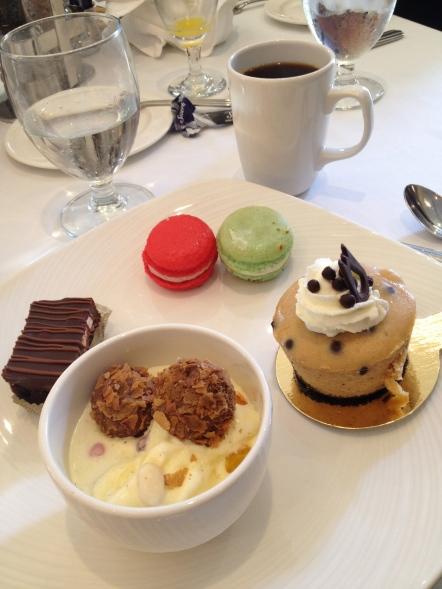 Brownie, Ice Cream, Truffles, Macarons, Cake
