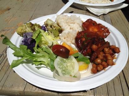 Vegetables, Rice, Chicken