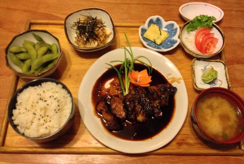Chicken Teriyaki Set Lunch