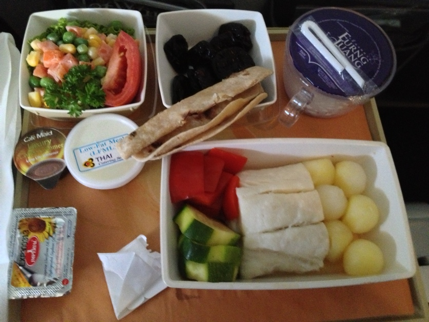 Thai Airways Food
