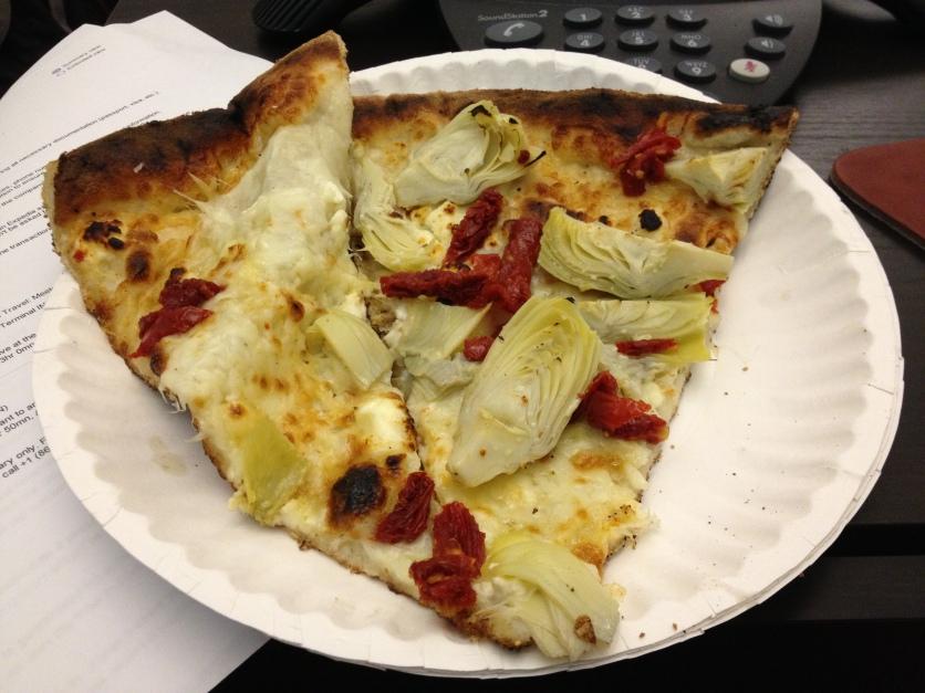 Artichoke and Sun-Dried Tomato Pizza