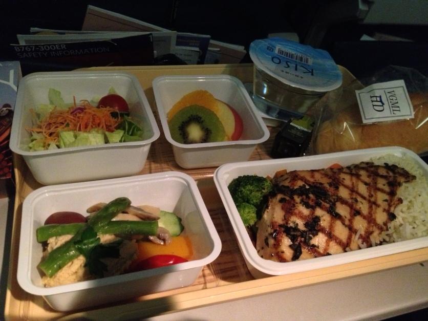 Delta Air Lines Food (NRT to SFO)