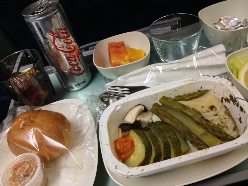 Korean Airlines LFML Meal