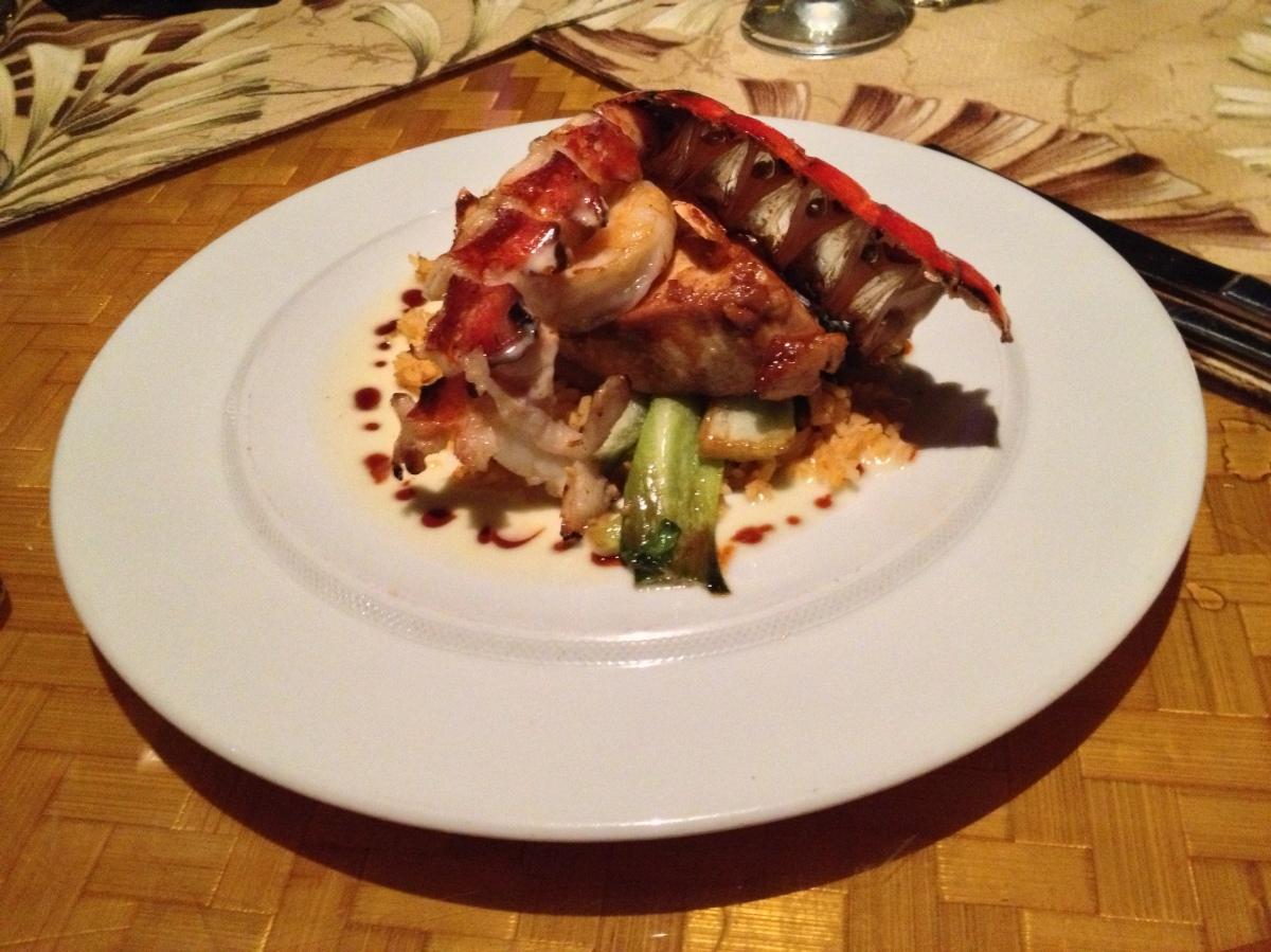 Dinner At Tidepools InKauai