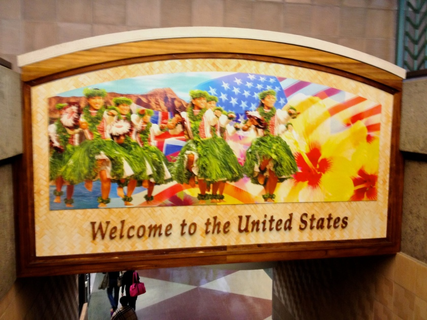Welcome to the United States, Hawaii Style