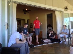 Erick Giving A Presentation