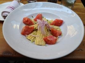 Roasted Corn & Heirloom Tomato Salad
