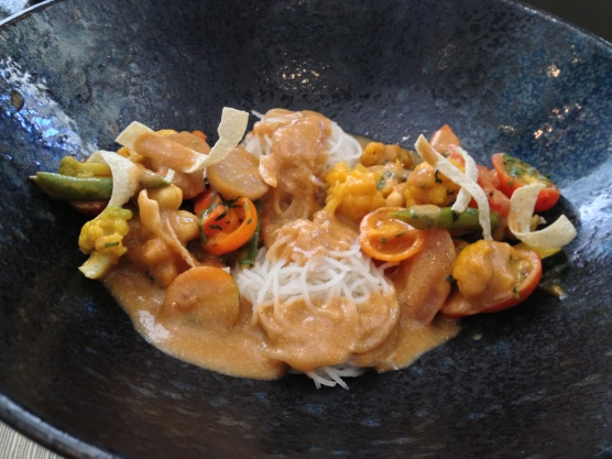 Vegetables with Curry