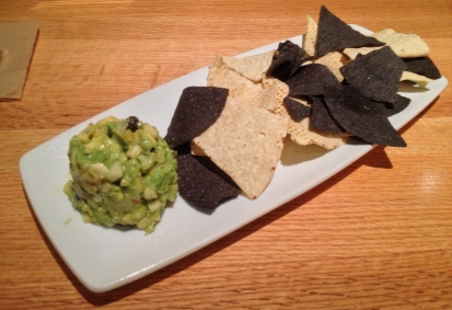 White Corn Guacamole With Chips