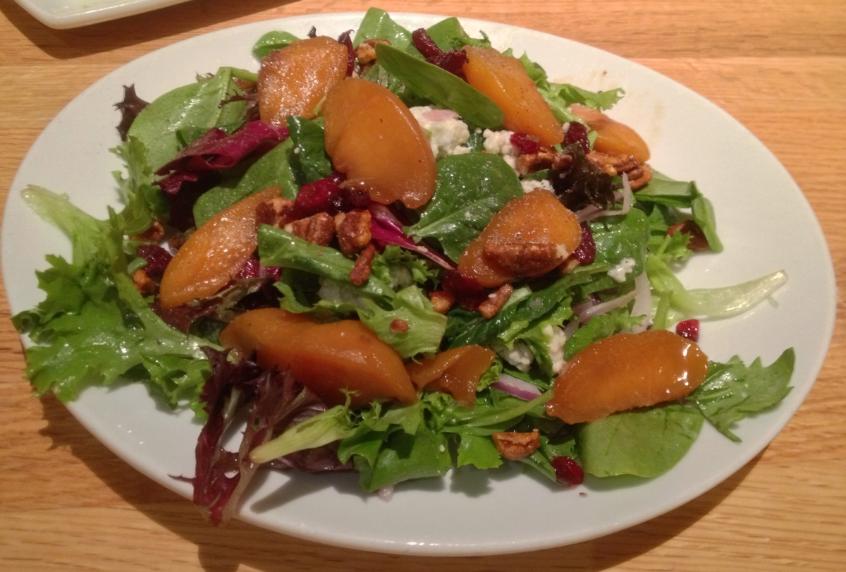Caramelized Peach Salad