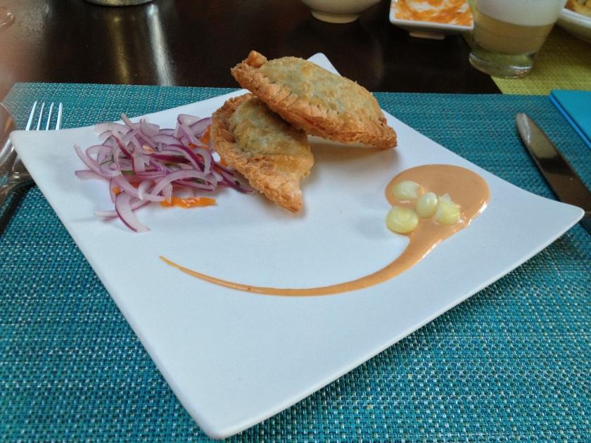 Empanadas de Tamalito Verde