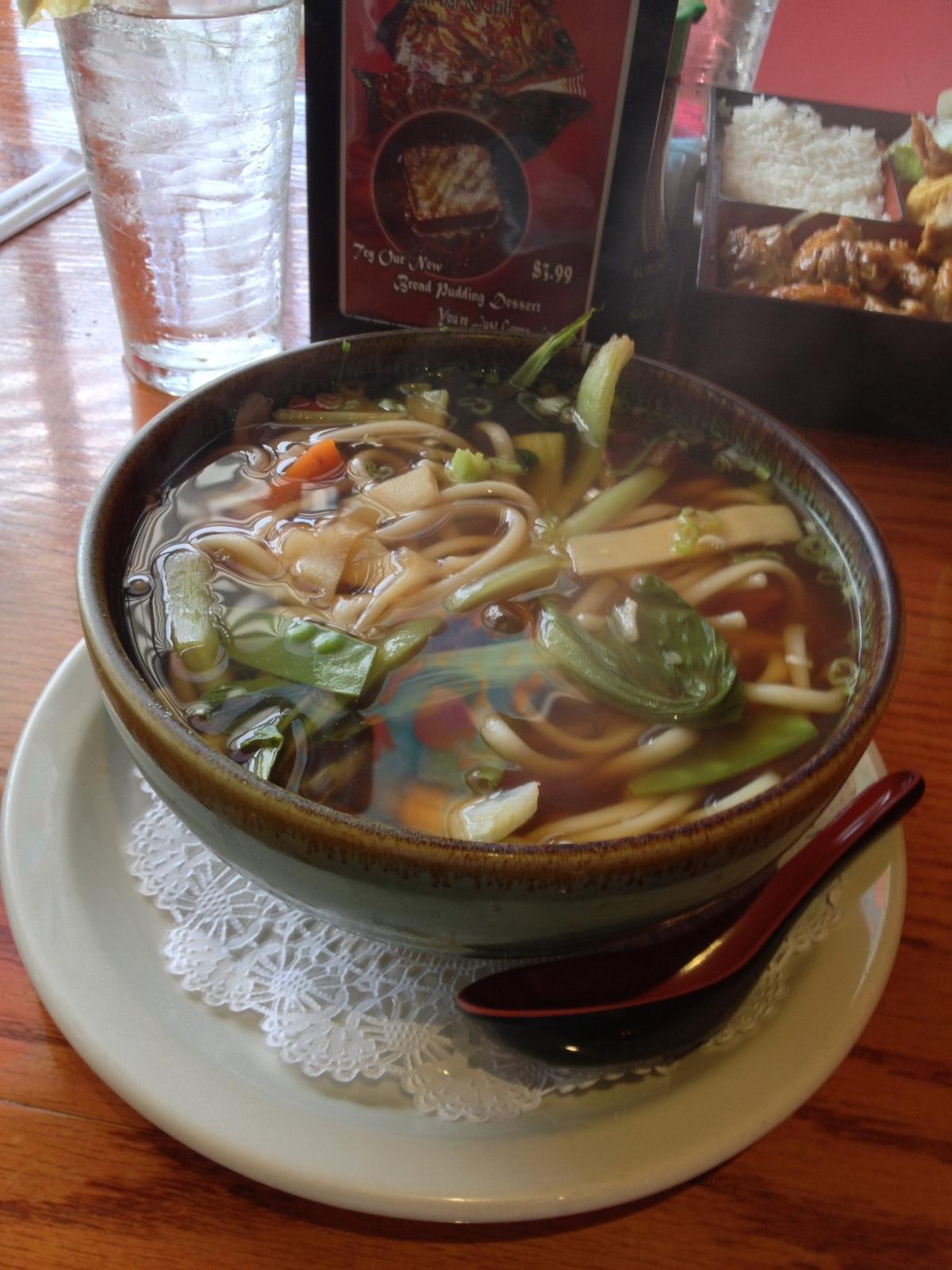 Vegetables Udon