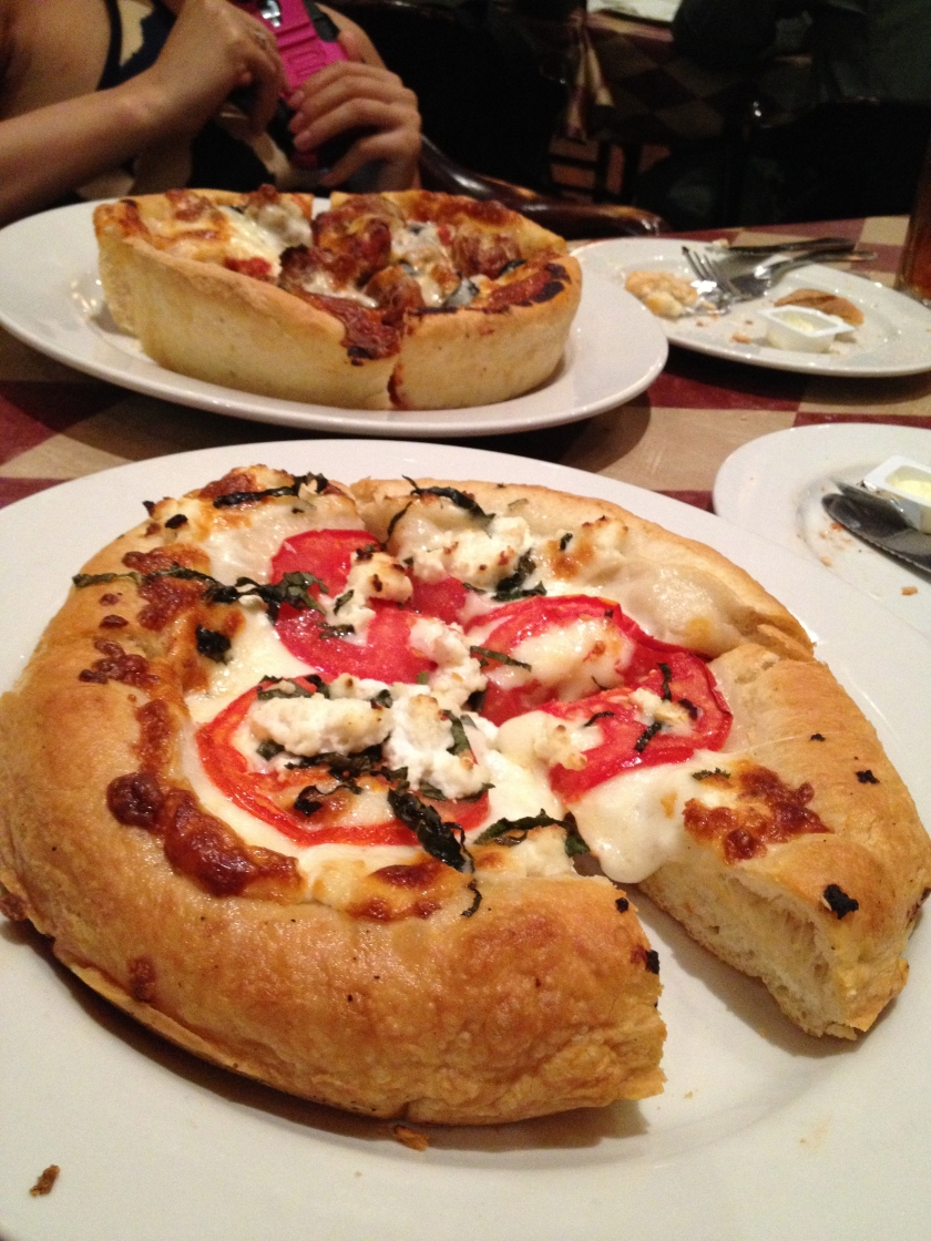 Deep Dish Pizzarellas