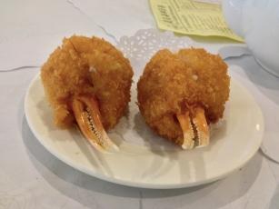 Shrimp-Stuffed Crab Claws