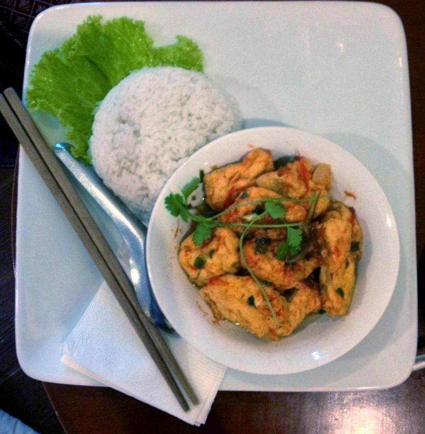 Tofu and Rice