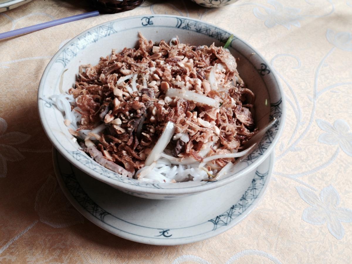 Bún Bò Nam Bộ, Nộm Hoachuối