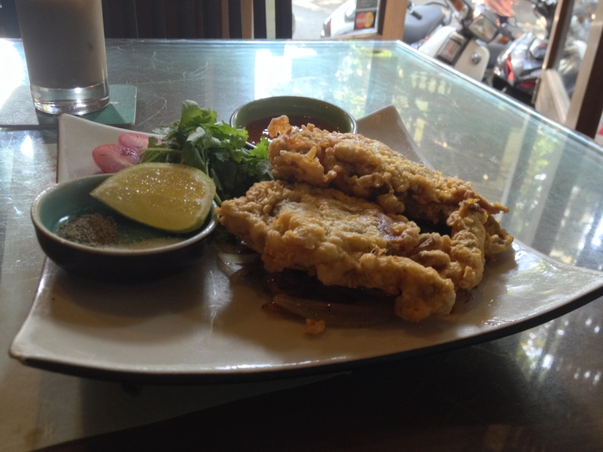 Fried Soft-Shell Crab, Chả Cá