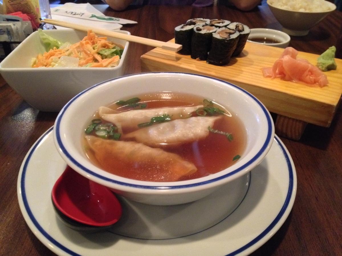 Dumpling Soup, ShiitakeRoll